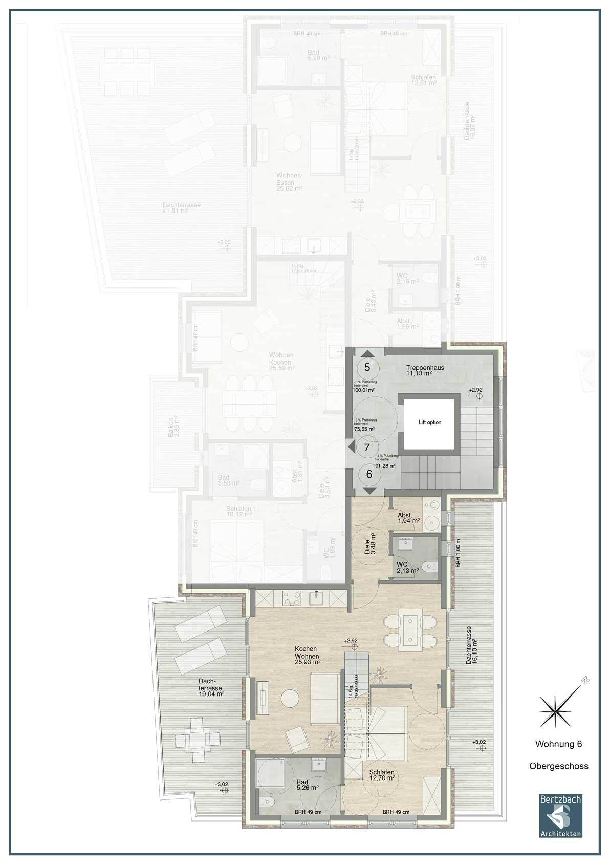 Wohnung 6 Obergeschoss