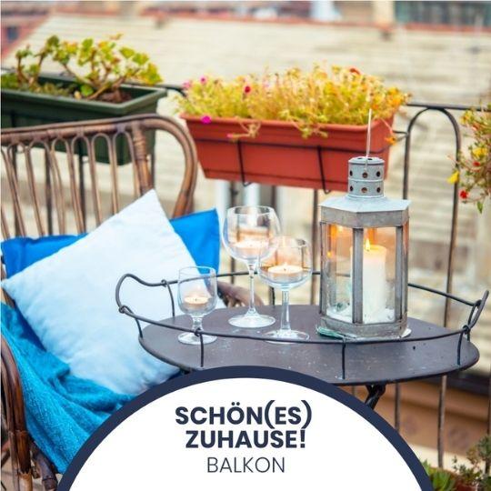 Schöne(s) Zuhause: Tipps, um Deinen Balkon frühlingsfit zu machen!
